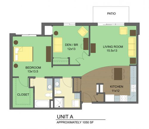 the pointe unit a floorplan